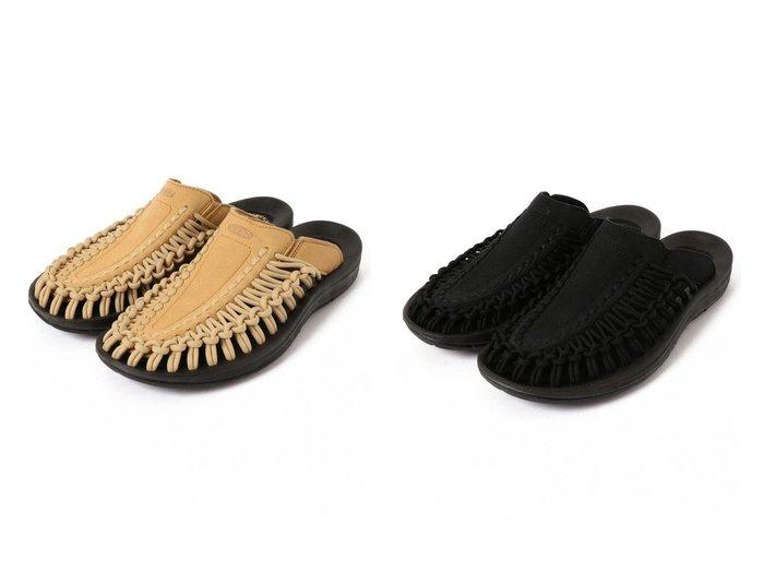 【SHIPS/シップス フォー ウィメン】のKEEN UNEEKスライド シューズ・靴のおすすめ!人気、トレンド・レディースファッションの通販 おすすめファッション通販アイテム レディースファッション・服の通販 founy(ファニー) ファッション Fashion レディースファッション WOMEN アウトドア サンダル シューズ スニーカー スリッパ フィット ミュール ラップ |ID:crp329100000016305
