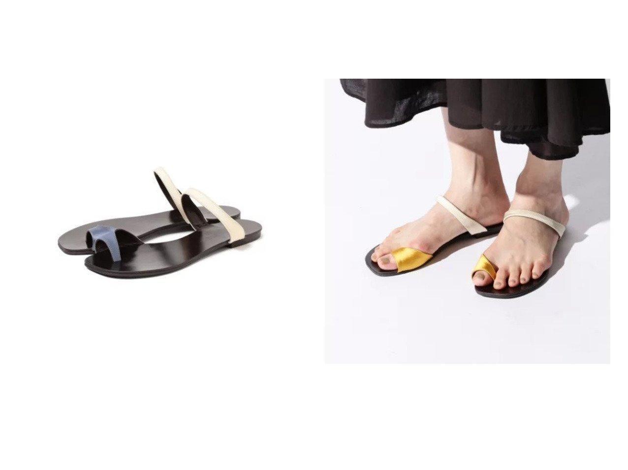 【Demi-Luxe BEAMS/デミルクス ビームス】の別注 AURA サンダル シューズ・靴のおすすめ!人気、トレンド・レディースファッションの通販 おすすめで人気の流行・トレンド、ファッションの通販商品 メンズファッション・キッズファッション・インテリア・家具・レディースファッション・服の通販 founy(ファニー) https://founy.com/ ファッション Fashion レディースファッション WOMEN サンダル シューズ スクエア スペシャル ラップ リラックス 別注 |ID:crp329100000016308