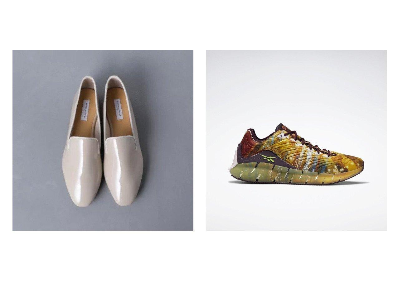 【Reebok/リーボック】の【Reebok x Kung Fu Panda】ジグ キネティカ Zig Kinetica Shoes&【UNITED ARROWS/ユナイテッドアローズ】のUBCS LTR 晴雨兼用 スリッポン シューズ・靴のおすすめ!人気、トレンド・レディースファッションの通販 おすすめで人気の流行・トレンド、ファッションの通販商品 メンズファッション・キッズファッション・インテリア・家具・レディースファッション・服の通販 founy(ファニー) https://founy.com/ ファッション Fashion レディースファッション WOMEN シューズ シンプル スマート スリッポン フラット レオパード カラフル グラフィック 軽量 |ID:crp329100000016309