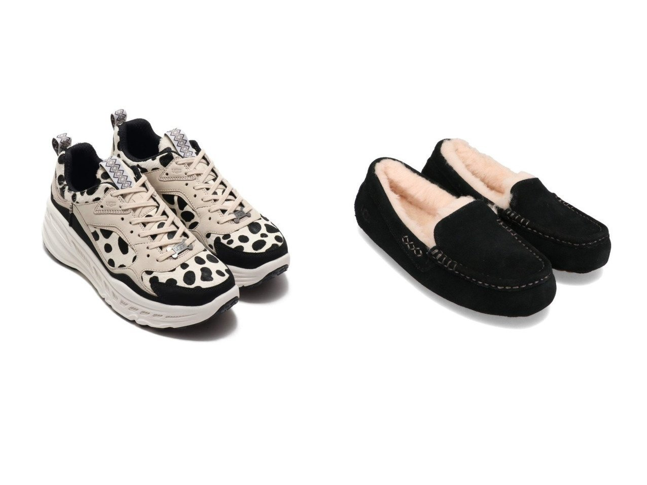 【UGG Australia/アグ】のUGG CA805 Dalmatian&UGG Ansley シューズ・靴のおすすめ!人気、トレンド・レディースファッションの通販 おすすめで人気の流行・トレンド、ファッションの通販商品 メンズファッション・キッズファッション・インテリア・家具・レディースファッション・服の通販 founy(ファニー) https://founy.com/ ファッション Fashion レディースファッション WOMEN シューズ スニーカー スリッポン インソール スエード モダン ライニング 人気 定番 Standard |ID:crp329100000016315