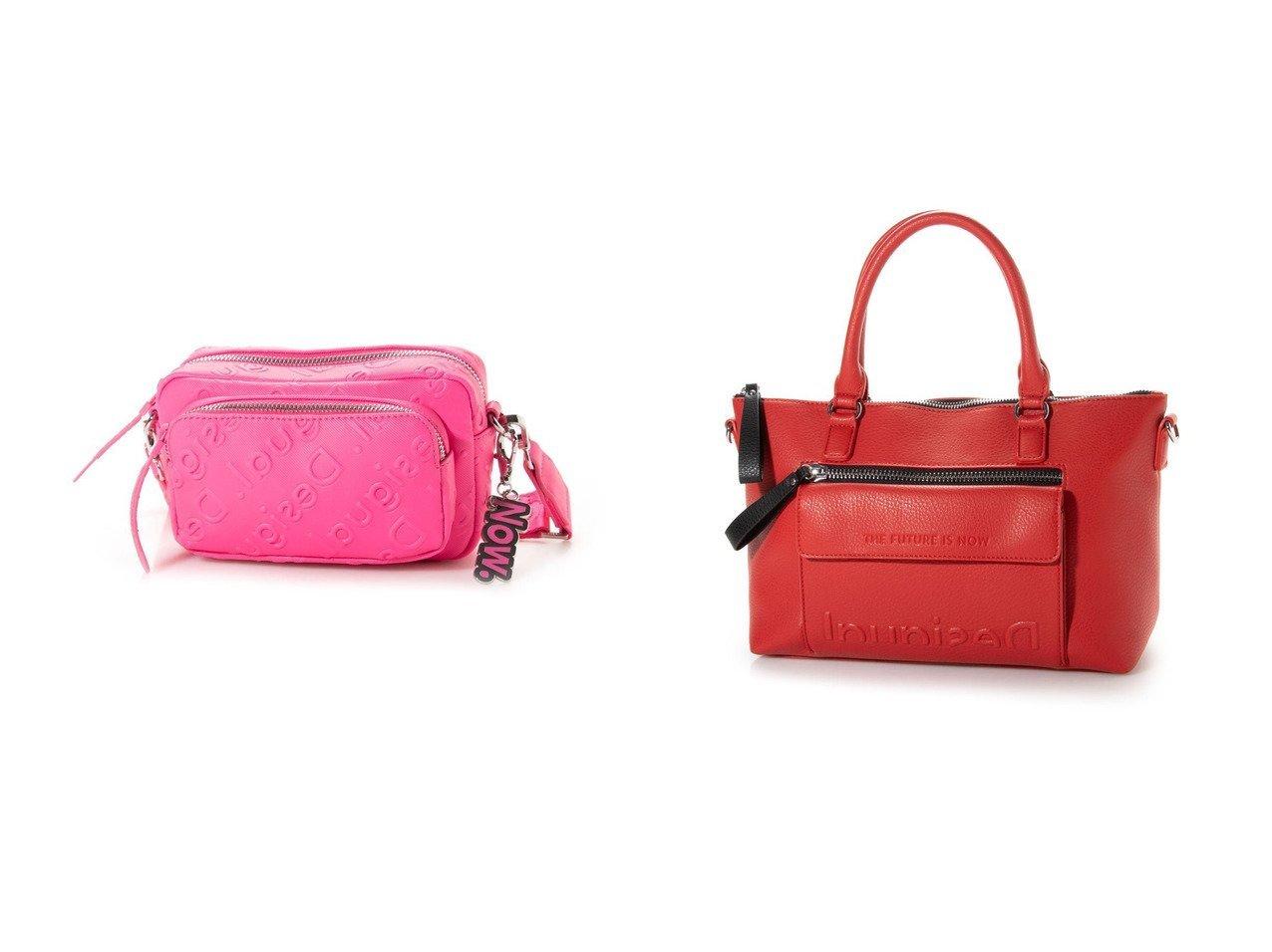 【Desigual/デシグアル】のハンドバッグ EMBOSSED HALF LOGO PADUA&クロスボディーバッグ COLORAMA PETRA バッグ・鞄のおすすめ!人気、トレンド・レディースファッションの通販 おすすめで人気の流行・トレンド、ファッションの通販商品 メンズファッション・キッズファッション・インテリア・家具・レディースファッション・服の通販 founy(ファニー) https://founy.com/ ファッション Fashion レディースファッション WOMEN 2021年 2021 2021 春夏 S/S SS Spring/Summer 2021 S/S 春夏 SS Spring/Summer エレガント ポケット マキシ 春 Spring カラフル ストレート ハンドバッグ フラップ ラップ 財布  ID:crp329100000016338