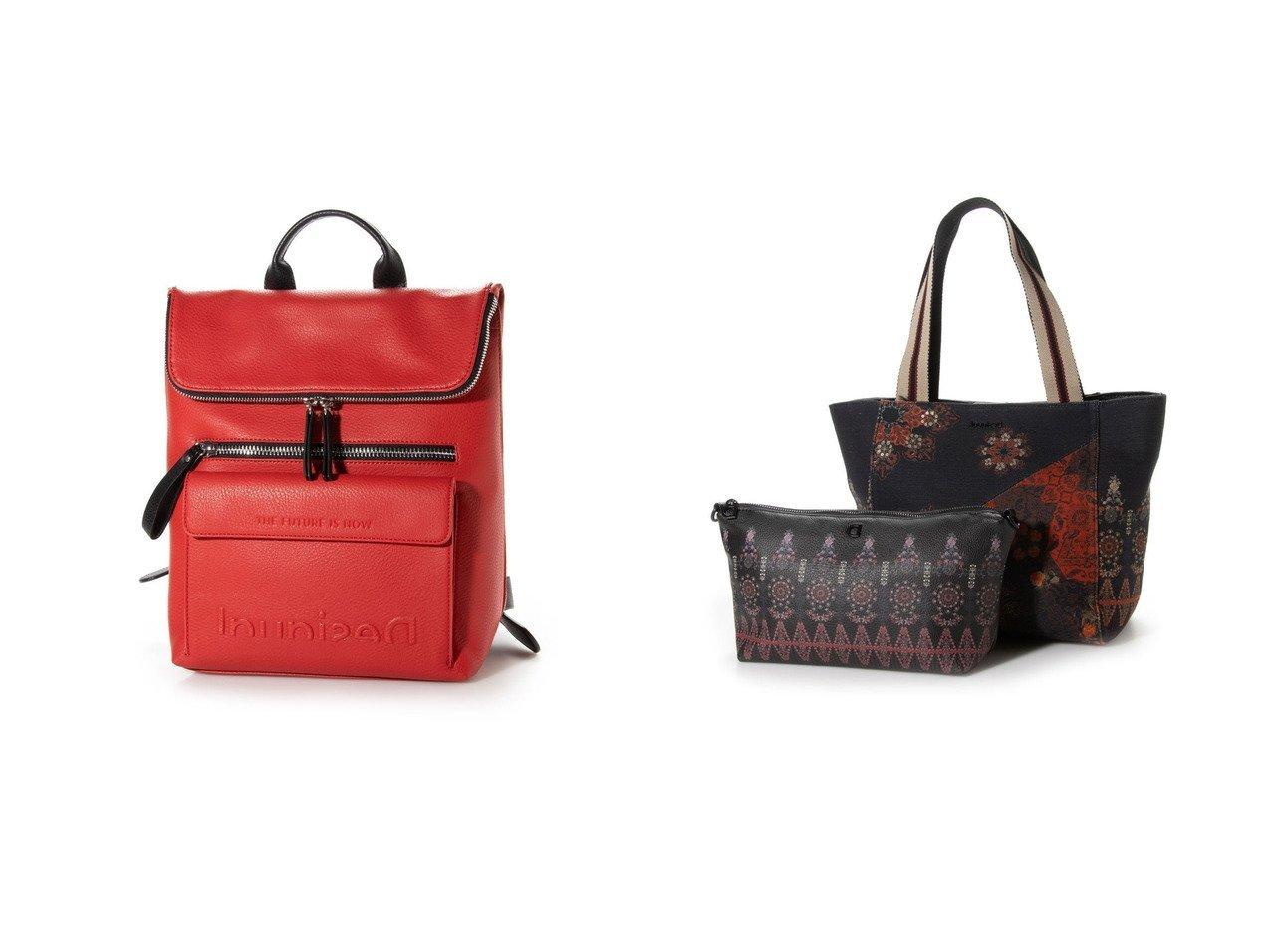 【Desigual/デシグアル】のバックパック EMBOSSED HALF LOGO NERANO&ショッピングバッグ INDOPATCH NORWICH バッグ・鞄のおすすめ!人気、トレンド・レディースファッションの通販 おすすめで人気の流行・トレンド、ファッションの通販商品 メンズファッション・キッズファッション・インテリア・家具・レディースファッション・服の通販 founy(ファニー) https://founy.com/ ファッション Fashion レディースファッション WOMEN バッグ Bag アクセサリー 春 Spring 財布 チャーム フラップ フロント ポケット マキシ 無地 2021年 2021 S/S 春夏 SS Spring/Summer 2021 春夏 S/S SS Spring/Summer 2021 パッチワーク プリント  ID:crp329100000016343