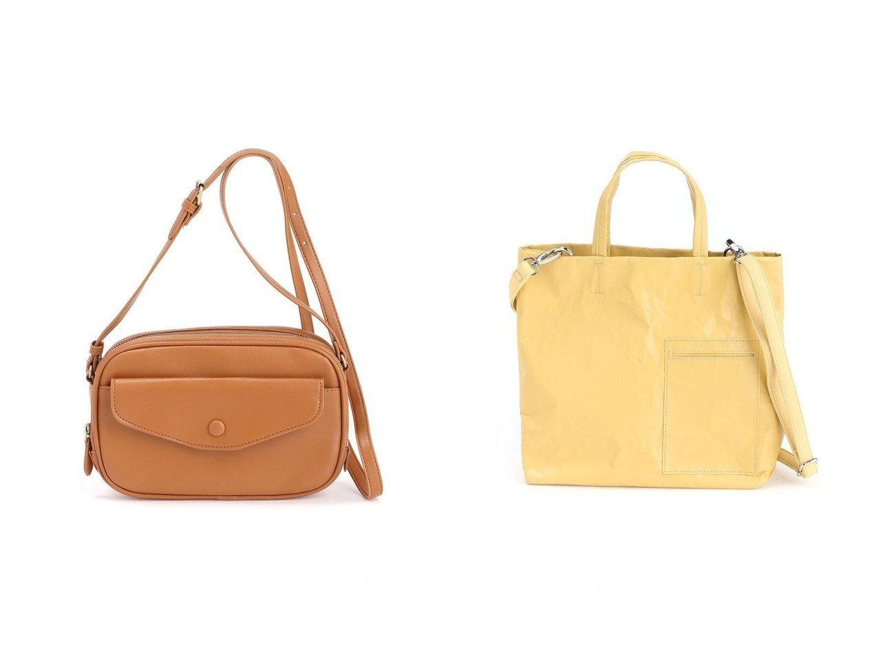 【studio CLIP/スタディオ クリップ】のPUフロントポケットお財布ショルダーバッグ&PUペーパーライクトート バッグ・鞄のおすすめ!人気、トレンド・レディースファッションの通販 おすすめで人気の流行・トレンド、ファッションの通販商品 メンズファッション・キッズファッション・インテリア・家具・レディースファッション・服の通販 founy(ファニー) https://founy.com/ ファッション Fashion レディースファッション WOMEN バッグ Bag 財布 Wallets NEW・新作・新着・新入荷 New Arrivals フロント ポケット リップ 財布 ショルダー マグネット  ID:crp329100000016348