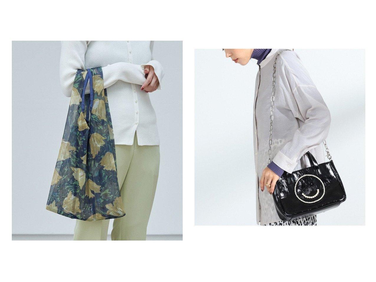 【Ray BEAMS/レイ ビームス】のスモール トートバッグ&【ROPE'PICNIC PASSAGE/ロペピクニック パサージュ】のチューリップ総柄パッカブルメッシュエコバッグ バッグ・鞄のおすすめ!人気、トレンド・レディースファッションの通販 おすすめで人気の流行・トレンド、ファッションの通販商品 メンズファッション・キッズファッション・インテリア・家具・レディースファッション・服の通販 founy(ファニー) https://founy.com/ ファッション Fashion レディースファッション WOMEN バッグ Bag NEW・新作・新着・新入荷 New Arrivals S/S 春夏 SS Spring/Summer チューリップ ポケット メッシュ 春 Spring ショルダー パイソン モチーフ 人気  ID:crp329100000016349