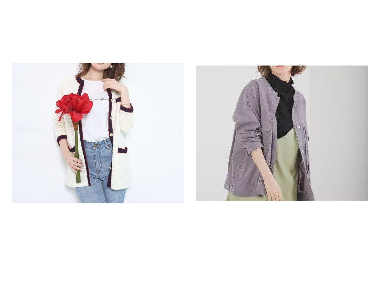 【abahouse mavie/アバハウスマヴィ】の【EC先行予約】ecru ライスコールブルゾン&【Apuweiser-riche/アプワイザーリッシェ】の配色ニットツイードジャケット アウターのおすすめ!人気、トレンド・レディースファッションの通販 おすすめで人気の流行・トレンド、ファッションの通販商品 メンズファッション・キッズファッション・インテリア・家具・レディースファッション・服の通販 founy(ファニー) https://founy.com/ ファッション Fashion レディースファッション WOMEN アウター Coat Outerwear ジャケット Jackets ブルゾン Blouson Jackets 2021年 2021 2021 春夏 S/S SS Spring/Summer 2021 S/S 春夏 SS Spring/Summer エレガント ジャケット ツイード 春 Spring |ID:crp329100000016360
