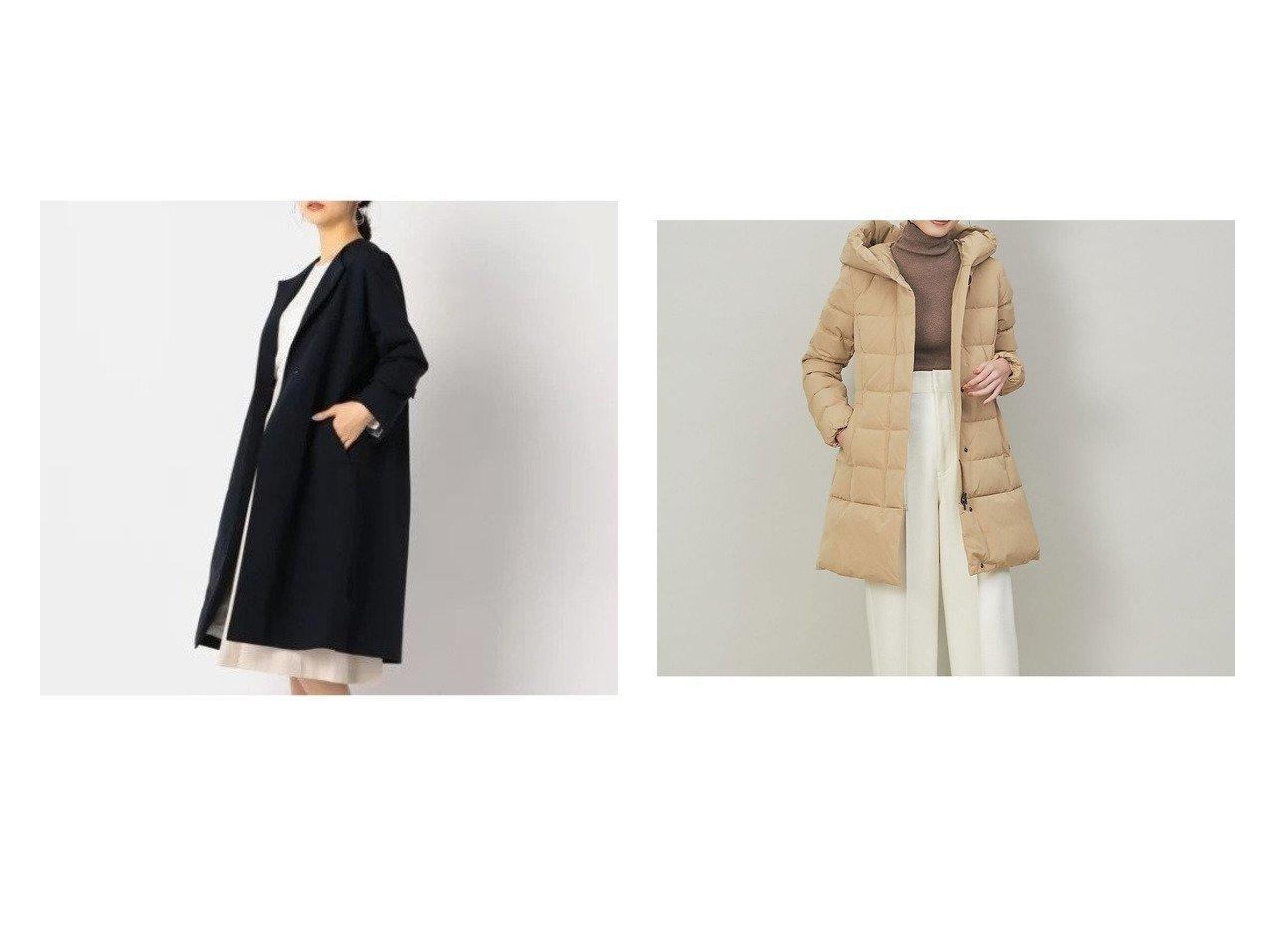 【NOLLEY'S/ノーリーズ】のタスランノーカラーコート&【Rouge vif la cle/ルージュヴィフラクレ】の【WOOLRICH】PUFFY PRESCOTT ダウンコート アウターのおすすめ!人気、トレンド・レディースファッションの通販 おすすめで人気の流行・トレンド、ファッションの通販商品 メンズファッション・キッズファッション・インテリア・家具・レディースファッション・服の通販 founy(ファニー) https://founy.com/ ファッション Fashion レディースファッション WOMEN アウター Coat Outerwear コート Coats ダウン Down Coats And Jackets ショルダー トレンド ドロップ フロント アウトドア シェイプ ダウン ダブル フェザー ベスト ポケット A/W 秋冬 AW Autumn/Winter / FW Fall-Winter 2020年 2020 2020-2021 秋冬 A/W AW Autumn/Winter / FW Fall-Winter 2020-2021 |ID:crp329100000016368