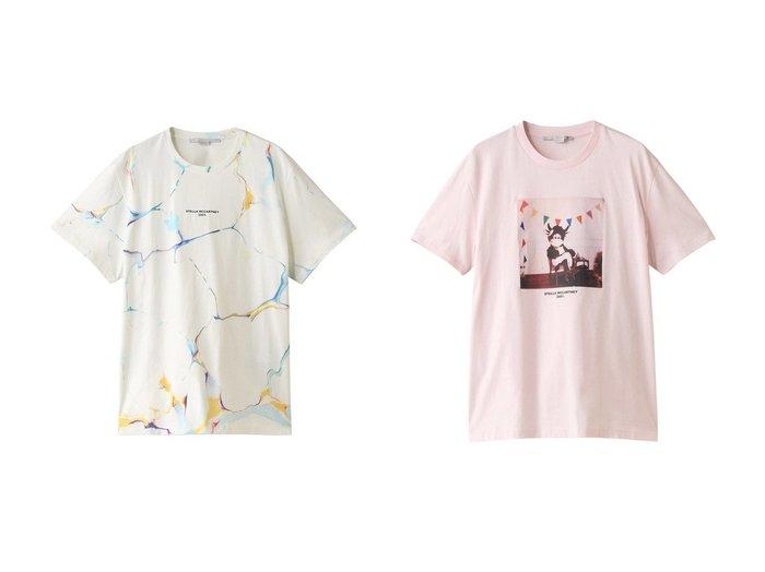 【STELLA McCARTNEY/ステラ マッカートニー】のYear Of The Ox Tシャツ&Marbling Tシャツ トップス・カットソーのおすすめ!人気、トレンド・レディースファッションの通販 おすすめファッション通販アイテム インテリア・キッズ・メンズ・レディースファッション・服の通販 founy(ファニー) https://founy.com/ ファッション Fashion レディースファッション WOMEN トップス Tops Tshirt シャツ/ブラウス Shirts Blouses ロング / Tシャツ T-Shirts カットソー Cut and Sewn 2021年 2021 2021 春夏 S/S SS Spring/Summer 2021 S/S 春夏 SS Spring/Summer カラフル ショート スリーブ フロント マーブル 春 Spring |ID:crp329100000016389