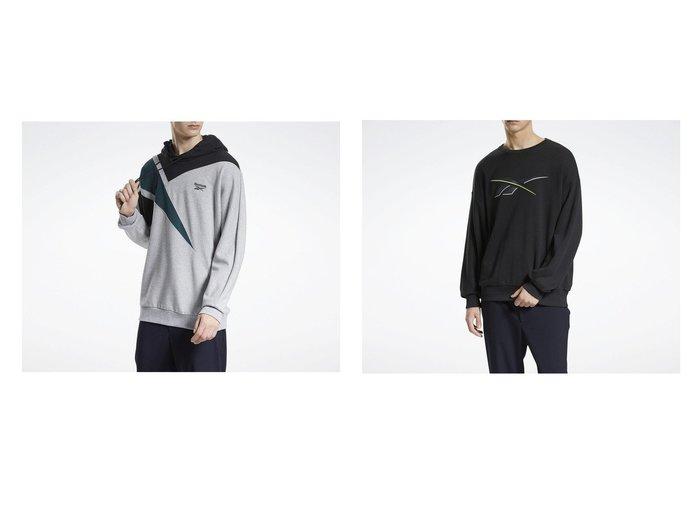 【Reebok/リーボック】のクラシックス PVT EMB フーデッド スウェットシャツ Classics PVT EMB Hooded Sweatshirt&クラシックス ニット スウェットシャツ Classics Knit Sweatshirt トップス・カットソーのおすすめ!人気、トレンド・レディースファッションの通販 おすすめファッション通販アイテム レディースファッション・服の通販 founy(ファニー) ファッション Fashion レディースファッション WOMEN トップス Tops Tshirt シャツ/ブラウス Shirts Blouses パーカ Sweats ロング / Tシャツ T-Shirts スウェット Sweat ニット Knit Tops ドローコード フィット フレンチ リラックス スウェット スタイリッシュ メンズ モダン 定番 Standard |ID:crp329100000016408