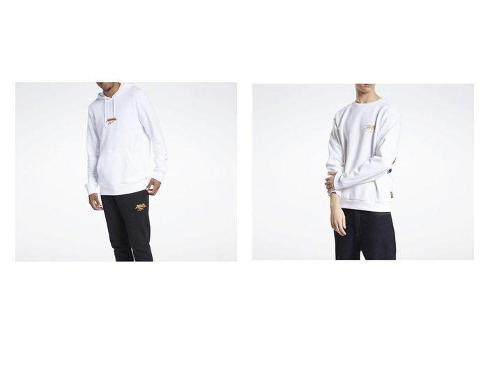 【Reebok/リーボック】のカンフー パンダ スウェットシャツ Kung Fu Panda Sweatshirt&クラシックス CNY ベクター クルー スウェットシャツ Classics CNY Vector Crew Sweatshirt トップス・カットソーのおすすめ!人気、トレンド・レディースファッションの通販 おすすめファッション通販アイテム レディースファッション・服の通販 founy(ファニー) ファッション Fashion レディースファッション WOMEN トップス Tops Tshirt シャツ/ブラウス Shirts Blouses パーカ Sweats ロング / Tシャツ T-Shirts スウェット Sweat キャラクター グラフィック ドローコード フィット フレンチ ポケット レギュラー ショルダー ジャージー ダブル ドロップ リラックス |ID:crp329100000016409