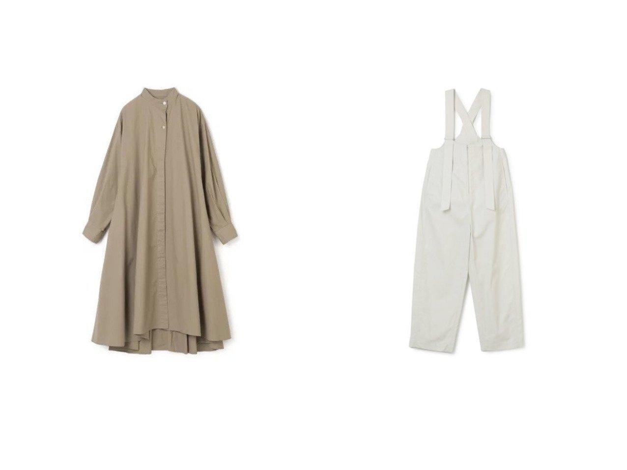 【LOEFF/ロエフ】のLF CTN DMP SLPT&【FLORENT/フローレント】のCOTTON SHEETING ワンピース・ドレスのおすすめ!人気、トレンド・レディースファッションの通販 おすすめで人気の流行・トレンド、ファッションの通販商品 メンズファッション・キッズファッション・インテリア・家具・レディースファッション・服の通販 founy(ファニー) https://founy.com/ ファッション Fashion レディースファッション WOMEN ワンピース Dress シャツワンピース Shirt Dresses オールインワン ワンピース All In One Dress サロペット Salopette カフス ロング 洗える 長袖 2021年 2021 2021 春夏 S/S SS Spring/Summer 2021 S/S 春夏 SS Spring/Summer サスペンダー ジップ フォルム フロント |ID:crp329100000016429