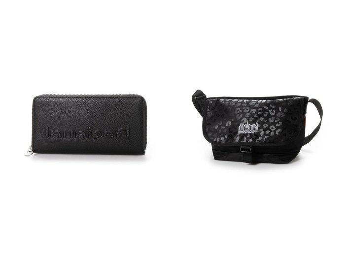 【Desigual/デシグアル】の長財布 EMBOSSED HALF FIONA&【Manhattan Portage/マンハッタン ポーテージ】のCasual Messenger Bag JRS Leopard 2020 おすすめ!人気、トレンド・レディースファッションの通販  おすすめファッション通販アイテム レディースファッション・服の通販 founy(ファニー) ファッション Fashion レディースファッション WOMEN 財布 Wallets 2021年 2021 2021 春夏 S/S SS Spring/Summer 2021 S/S 春夏 SS Spring/Summer チャーム 春 Spring 財布 コーティング シルバー スマート プリント ポケット メタル ラップ レオパード レギュラー A/W 秋冬 AW Autumn/Winter / FW Fall-Winter 2020年 2020 2020-2021 秋冬 A/W AW Autumn/Winter / FW Fall-Winter 2020-2021 |ID:crp329100000016581