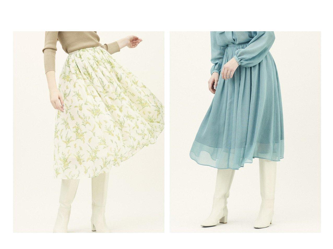 【TOMORROWLAND BALLSEY/トゥモローランド ボールジー】のミモザフラワープリント ギャザーミディスカート&ナイアガラシフォン ギャザーミディスカート TOMORROWLANDのおすすめ!人気、トレンド・レディースファッションの通販 おすすめで人気の流行・トレンド、ファッションの通販商品 メンズファッション・キッズファッション・インテリア・家具・レディースファッション・服の通販 founy(ファニー) https://founy.com/ ファッション Fashion レディースファッション WOMEN スカート Skirt プリーツスカート Pleated Skirts NEW・新作・新着・新入荷 New Arrivals 2021年 2021 2021 春夏 S/S SS Spring/Summer 2021 S/S 春夏 SS Spring/Summer ギャザー シンプル ハンド バランス フェミニン プリント プリーツ ロング 春 Spring |ID:crp329100000016628