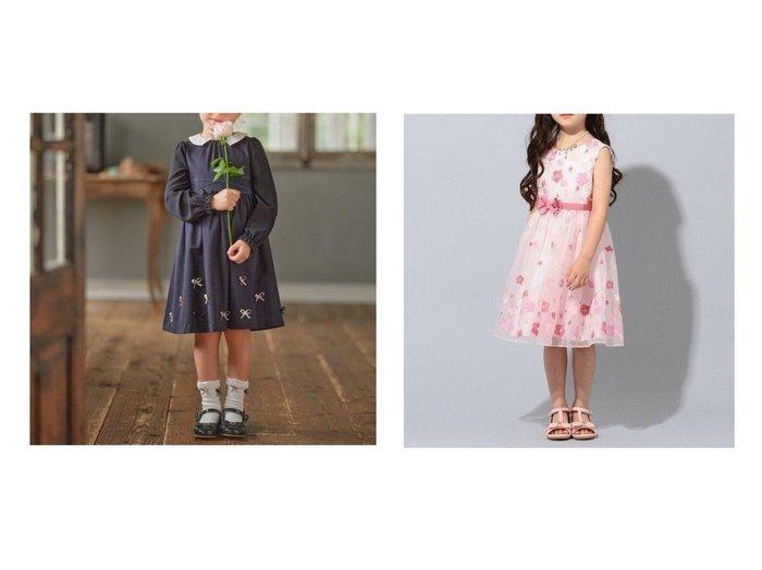 【TOCCA BAMBINI / KIDS/トッカ バンビーニ】の【100-140 】Phlox ドレス&【110-140 】プリムジャージーワンピース 【KIDS】子供服のおすすめ!人気トレンド・キッズファッションの通販  おすすめファッション通販アイテム レディースファッション・服の通販 founy(ファニー) ファッション Fashion キッズファッション KIDS ワンピース Dress Kids クラシック グログラン シフォン ジャケット ダブル ドレス 定番 Standard 送料無料 Free Shipping NEW・新作・新着・新入荷 New Arrivals オーガンジー ベビー ローズ |ID:crp329100000016632