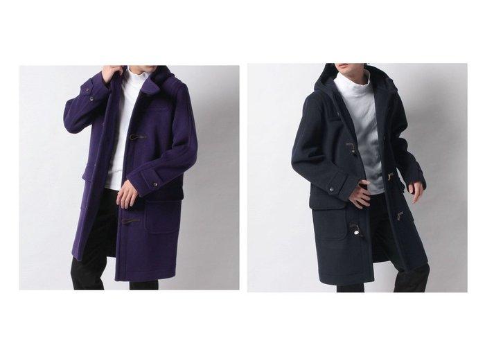【OLD ENGLAND / MEN/オールド イングランド】のカラーダッフルコート 【MEN】男性のおすすめ!人気トレンド・メンズファッションの通販 おすすめ人気トレンドファッション通販アイテム インテリア・キッズ・メンズ・レディースファッション・服の通販 founy(ファニー) https://founy.com/ ファッション Fashion メンズファッション MEN アウター Coats Outerwear Men NEW・新作・新着・新入荷 New Arrivals ダッフルコート トレンド 定番 Standard  ID:crp329100000016652