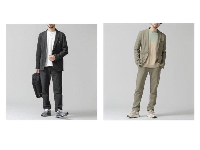 【nano universe / MEN/ナノ ユニバース】のベルオムール ストレッチポンチ セットアップ 【MEN】男性のおすすめ!人気トレンド・メンズファッションの通販 おすすめファッション通販アイテム インテリア・キッズ・メンズ・レディースファッション・服の通販 founy(ファニー) https://founy.com/ ファッション Fashion メンズファッション MEN セットアップ Setup Men NEW・新作・新着・新入荷 New Arrivals ジャケット ストレッチ セットアップ パッチ ポケット  ID:crp329100000016654