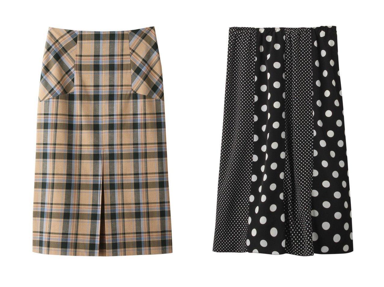 【heliopole/エリオポール】のBONOTTOラメチェックBOXプリーツスカート&デシンドット8枚はぎスカート heliopoleのおすすめ!人気、トレンド・レディースファッションの通販 おすすめで人気の流行・トレンド、ファッションの通販商品 メンズファッション・キッズファッション・インテリア・家具・レディースファッション・服の通販 founy(ファニー) https://founy.com/ ファッション Fashion レディースファッション WOMEN スカート Skirt プリーツスカート Pleated Skirts ロングスカート Long Skirt イタリア チェック プリーツ ボトム ロング ドット バランス ブロッキング プリント ベーシック  ID:crp329100000016730