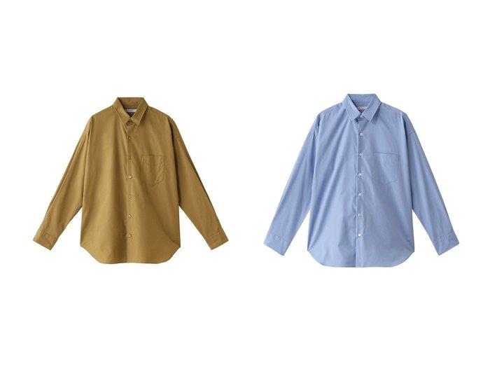 【heliopole/エリオポール】のレギュラーシャツ&ポプリン レギュラーシャツ heliopoleのおすすめ!人気、トレンド・レディースファッションの通販 おすすめファッション通販アイテム レディースファッション・服の通販 founy(ファニー) ファッション Fashion レディースファッション WOMEN トップス Tops Tshirt シャツ/ブラウス Shirts Blouses ショルダー シンプル スリーブ ドロップ ベーシック レギュラー ロング 長袖 |ID:crp329100000016742