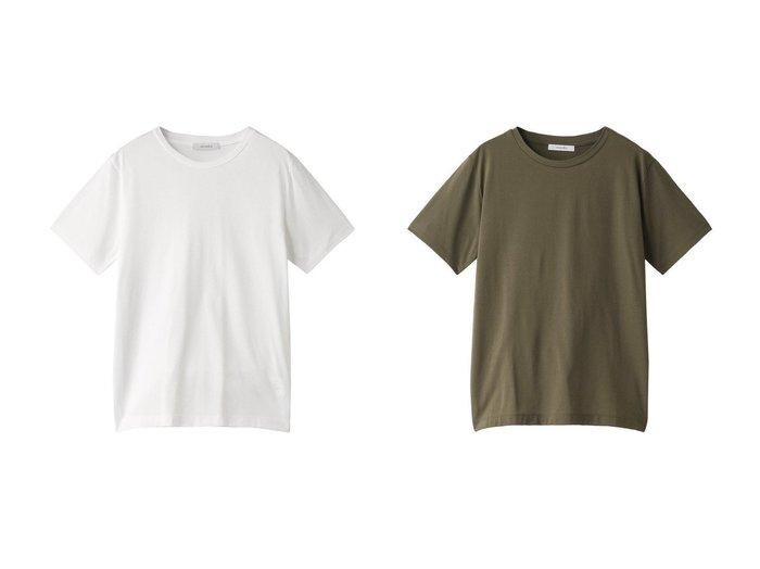 【heliopole/エリオポール】のレギュラーTシャツ heliopoleのおすすめ!人気、トレンド・レディースファッションの通販 おすすめファッション通販アイテム レディースファッション・服の通販 founy(ファニー) ファッション Fashion レディースファッション WOMEN トップス Tops Tshirt シャツ/ブラウス Shirts Blouses ロング / Tシャツ T-Shirts カットソー Cut and Sewn ショート シンプル スリーブ ベーシック レギュラー |ID:crp329100000016744