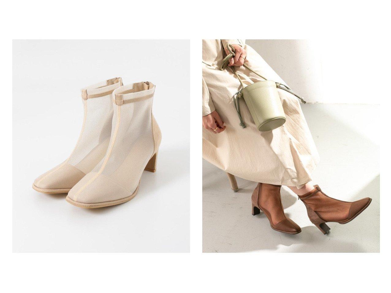 【KBF / URBAN RESEARCH/ケービーエフ】のメッシュブーツ URBAN RESEARCHのおすすめ!人気、トレンド・レディースファッションの通販  おすすめで人気の流行・トレンド、ファッションの通販商品 メンズファッション・キッズファッション・インテリア・家具・レディースファッション・服の通販 founy(ファニー) https://founy.com/ ファッション Fashion レディースファッション WOMEN NEW・新作・新着・新入荷 New Arrivals シューズ ショート スタイリッシュ ソックス タイツ フロント メッシュ  ID:crp329100000016794