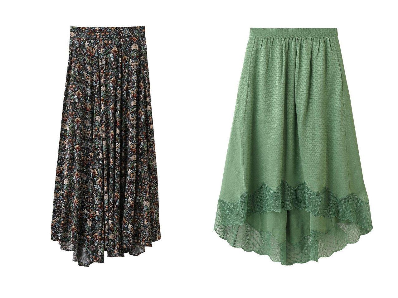 【ZADIG & VOLTAIRE/ザディグ エ ヴォルテール】のJOYO KALEIDO JUPE スカート&JOSLIN JAC ZV 3D JUPE スカート ZADIG & VOLTAIREのおすすめ!人気、トレンド・レディースファッションの通販 おすすめで人気の流行・トレンド、ファッションの通販商品 メンズファッション・キッズファッション・インテリア・家具・レディースファッション・服の通販 founy(ファニー) https://founy.com/ ファッション Fashion レディースファッション WOMEN スカート Skirt ロングスカート Long Skirt 2021年 2021 2021 春夏 S/S SS Spring/Summer 2021 S/S 春夏 SS Spring/Summer イレギュラー セットアップ フラワー フレア プリント ロング 春 Spring |ID:crp329100000016860