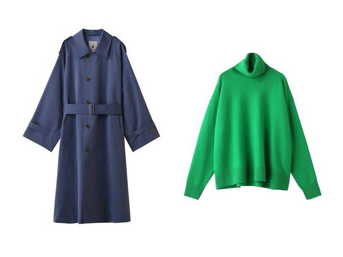 【BLAMINK/ブラミンク】のカシミヤ9Gタートルネックドロップショルダーニット&コットンシルクモーターサイクルコート BLAMINKのおすすめ!人気、トレンド・レディースファッションの通販 おすすめファッション通販アイテム レディースファッション・服の通販 founy(ファニー) ファッション Fashion レディースファッション WOMEN アウター Coat Outerwear コート Coats トップス Tops Tshirt ニット Knit Tops プルオーバー Pullover タートルネック Turtleneck 2021年 2021 2021 春夏 S/S SS Spring/Summer 2021 S/S 春夏 SS Spring/Summer シルク ロング 春 Spring  ID:crp329100000016863