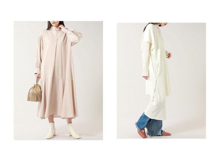 【ROSE BUD/ローズバッド】のマルチwayレイヤードワンピース&フレアスキッパーワンピース ROSE BUDのおすすめ!人気、トレンド・レディースファッションの通販 おすすめファッション通販アイテム レディースファッション・服の通販 founy(ファニー) ファッション Fashion レディースファッション WOMEN ワンピース Dress 2021年 2021 2021 春夏 S/S SS Spring/Summer 2021 S/S 春夏 SS Spring/Summer スリーブ トレンド ハイネック フレア ロング 春 Spring |ID:crp329100000016872