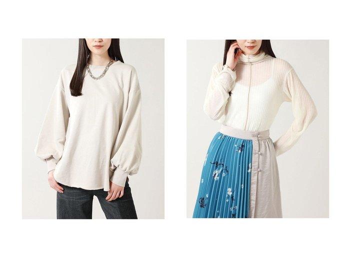 【ROSE BUD/ローズバッド】の後スリット裏毛カットソー&シアーリブカットソー ROSE BUDのおすすめ!人気、トレンド・レディースファッションの通販 おすすめファッション通販アイテム レディースファッション・服の通販 founy(ファニー) ファッション Fashion レディースファッション WOMEN トップス Tops Tshirt シャツ/ブラウス Shirts Blouses ロング / Tシャツ T-Shirts カットソー Cut and Sewn 2021年 2021 2021 春夏 S/S SS Spring/Summer 2021 A/W 秋冬 AW Autumn/Winter / FW Fall-Winter S/S 春夏 SS Spring/Summer カットソー シンプル スリット スリーブ デニム トレンド ラウンド ロング 春 Spring |ID:crp329100000016873