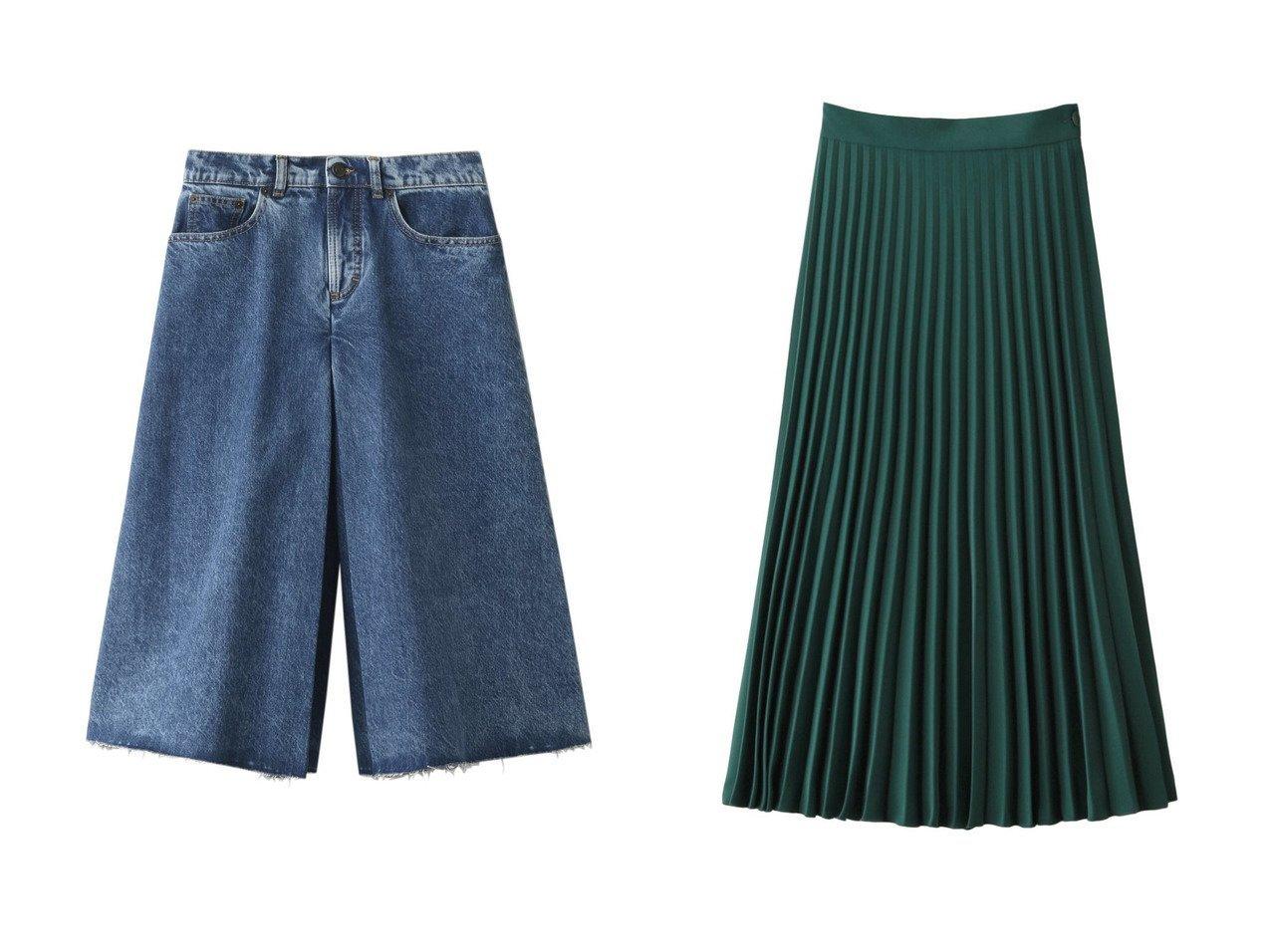 【MM6 Maison Martin Margiela/エムエム6 メゾン マルタン マルジェラ】のプリーツスカート&【MAISON MARGIELA/メゾン マルジェラ】のリサイクルデニムタックキュロットスカート おすすめ!人気、トレンド・レディースファッションの通販 おすすめで人気の流行・トレンド、ファッションの通販商品 メンズファッション・キッズファッション・インテリア・家具・レディースファッション・服の通販 founy(ファニー) https://founy.com/ ファッション Fashion レディースファッション WOMEN スカート Skirt キュロットスカート Culotte Skirt プリーツスカート Pleated Skirts ロングスカート Long Skirt 2021年 2021 2021 春夏 S/S SS Spring/Summer 2021 S/S 春夏 SS Spring/Summer デニム ワンポイント 春 Spring オケージョン プリーツ ロング 定番 Standard |ID:crp329100000016893