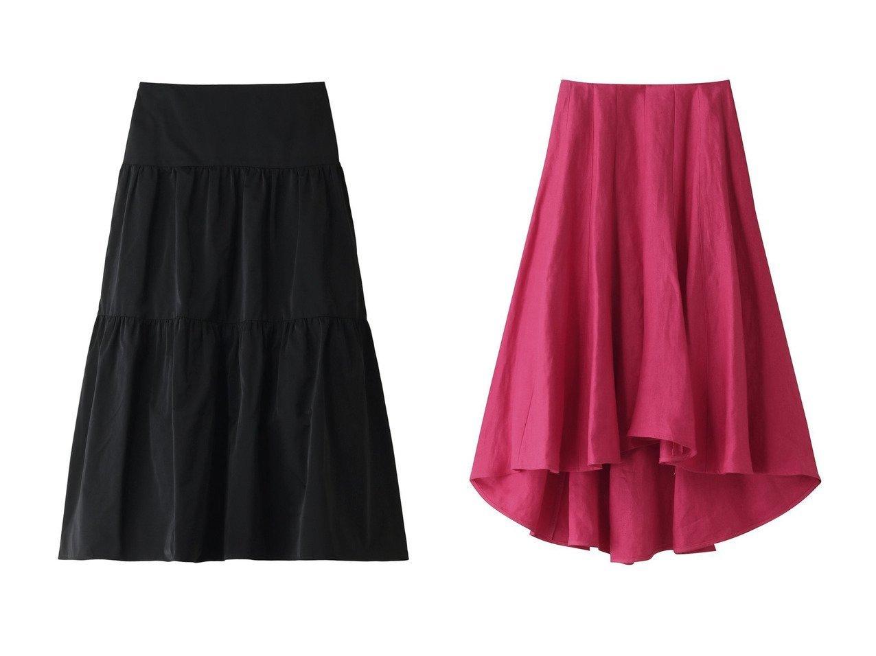 【MADISONBLUE/マディソンブルー】のポリエステルツイルティアードスカート&リネンツイルパネルフレアスカート MADISONBLUEのおすすめ!人気、トレンド・レディースファッションの通販 おすすめで人気の流行・トレンド、ファッションの通販商品 メンズファッション・キッズファッション・インテリア・家具・レディースファッション・服の通販 founy(ファニー) https://founy.com/ ファッション Fashion レディースファッション WOMEN スカート Skirt ティアードスカート Tiered Skirts ロングスカート Long Skirt Aライン/フレアスカート Flared A-Line Skirts 2021年 2021 2021 春夏 S/S SS Spring/Summer 2021 S/S 春夏 SS Spring/Summer イタリア エレガント サテン ティアードスカート フォルム ロング 春 Spring |ID:crp329100000016898
