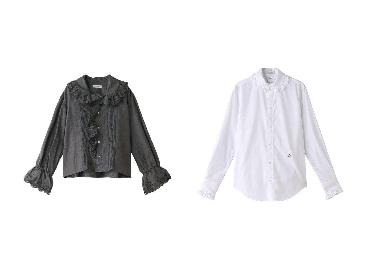 【MADISONBLUE/マディソンブルー】のリネン刺繍レースブラウス&ラウンドカラーフリルシャツ MADISONBLUEのおすすめ!人気、トレンド・レディースファッションの通販 おすすめで人気の流行・トレンド、ファッションの通販商品 メンズファッション・キッズファッション・インテリア・家具・レディースファッション・服の通販 founy(ファニー) https://founy.com/ ファッション Fashion レディースファッション WOMEN トップス Tops Tshirt シャツ/ブラウス Shirts Blouses 2021年 2021 2021 春夏 S/S SS Spring/Summer 2021 S/S 春夏 SS Spring/Summer スリーブ リネン レース ロング ヴィンテージ 春 Spring |ID:crp329100000016899
