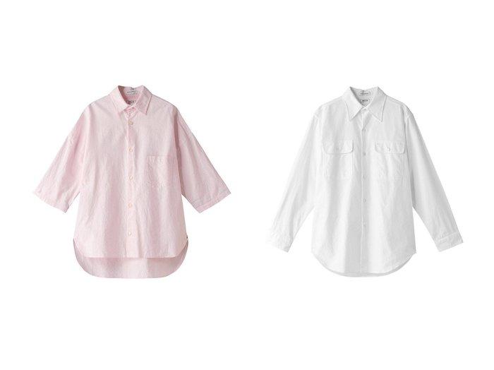 【MADISONBLUE/マディソンブルー】のJ.BRADLEY コットンオックスシャツ&HAMPTON コットンオックスシャツ MADISONBLUEのおすすめ!人気、トレンド・レディースファッションの通販 おすすめファッション通販アイテム レディースファッション・服の通販 founy(ファニー) ファッション Fashion レディースファッション WOMEN トップス Tops Tshirt シャツ/ブラウス Shirts Blouses 2021年 2021 2021 春夏 S/S SS Spring/Summer 2021 S/S 春夏 SS Spring/Summer シンプル スリーブ ロング 春 Spring |ID:crp329100000016901