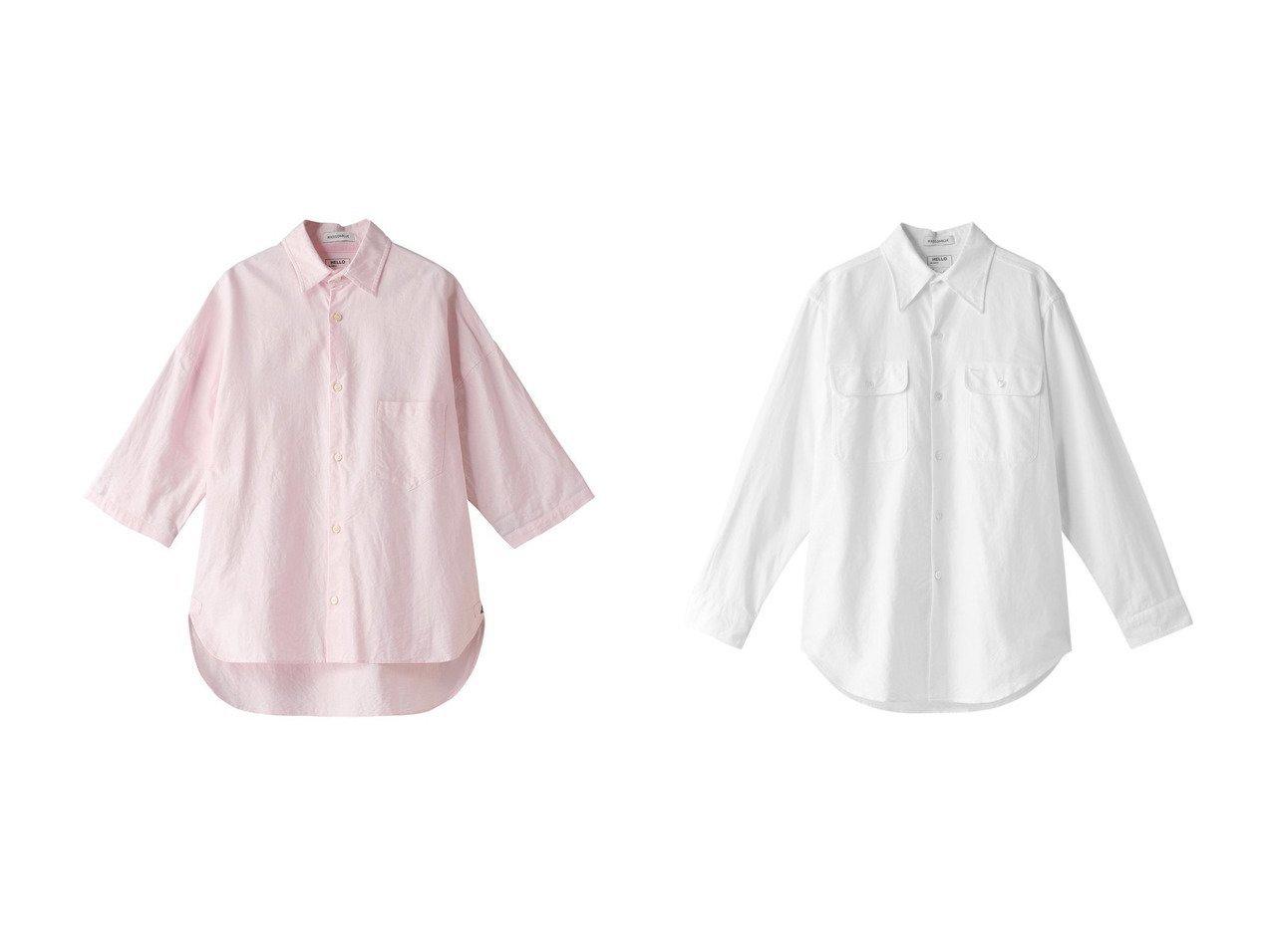 【MADISONBLUE/マディソンブルー】のJ.BRADLEY コットンオックスシャツ&HAMPTON コットンオックスシャツ MADISONBLUEのおすすめ!人気、トレンド・レディースファッションの通販 おすすめで人気の流行・トレンド、ファッションの通販商品 メンズファッション・キッズファッション・インテリア・家具・レディースファッション・服の通販 founy(ファニー) https://founy.com/ ファッション Fashion レディースファッション WOMEN トップス Tops Tshirt シャツ/ブラウス Shirts Blouses 2021年 2021 2021 春夏 S/S SS Spring/Summer 2021 S/S 春夏 SS Spring/Summer シンプル スリーブ ロング 春 Spring |ID:crp329100000016901