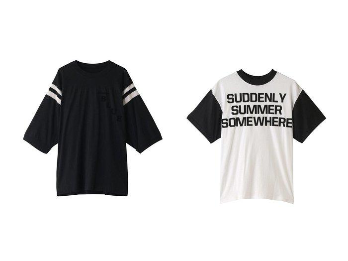【MADISONBLUE/マディソンブルー】のバイカラーラインTシャツ&バイカラーTシャツ MADISONBLUEのおすすめ!人気、トレンド・レディースファッションの通販 おすすめファッション通販アイテム レディースファッション・服の通販 founy(ファニー) ファッション Fashion レディースファッション WOMEN トップス Tops Tshirt シャツ/ブラウス Shirts Blouses ロング / Tシャツ T-Shirts カットソー Cut and Sewn 2021年 2021 2021 春夏 S/S SS Spring/Summer 2021 S/S 春夏 SS Spring/Summer インド ショート スリーブ ヴィンテージ 春 Spring |ID:crp329100000016905