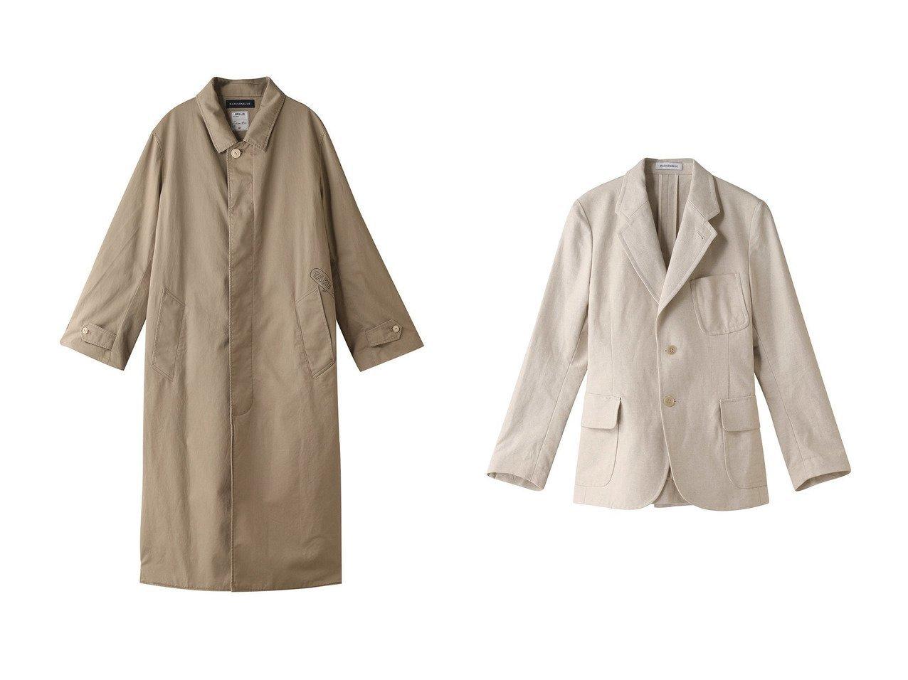 【MADISONBLUE/マディソンブルー】のコットンリネンシャツワンピースコート&コットンリネンシングル2ボタンジャケット MADISONBLUEのおすすめ!人気、トレンド・レディースファッションの通販 おすすめで人気の流行・トレンド、ファッションの通販商品 メンズファッション・キッズファッション・インテリア・家具・レディースファッション・服の通販 founy(ファニー) https://founy.com/ ファッション Fashion レディースファッション WOMEN アウター Coat Outerwear コート Coats ワンピース Dress シャツワンピース Shirt Dresses ジャケット Jackets 2021年 2021 2021 春夏 S/S SS Spring/Summer 2021 S/S 春夏 SS Spring/Summer コンパクト プリント モチーフ ロング ヴィンテージ 春 Spring |ID:crp329100000016907