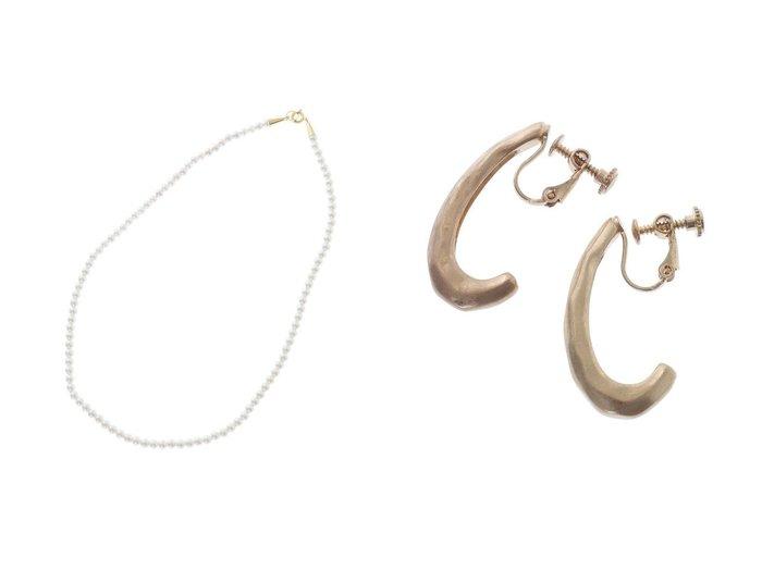 【The Virgnia/ザ ヴァージニア】のハーフムーンイヤリング&パールネックレス The Virgniaのおすすめ!人気、トレンド・レディースファッションの通販 おすすめファッション通販アイテム レディースファッション・服の通販 founy(ファニー) ファッション Fashion レディースファッション WOMEN ジュエリー Jewelry ネックレス Necklaces リング Rings イヤリング Earrings 2021年 2021 2021 春夏 S/S SS Spring/Summer 2021 S/S 春夏 SS Spring/Summer ネックレス パール 春 Spring |ID:crp329100000016918