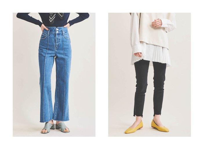 【The Virgnia/ザ ヴァージニア】のデニムワイドパンツ&デニムスキニーパンツ The Virgniaのおすすめ!人気、トレンド・レディースファッションの通販 おすすめファッション通販アイテム インテリア・キッズ・メンズ・レディースファッション・服の通販 founy(ファニー) https://founy.com/ ファッション Fashion レディースファッション WOMEN パンツ Pants デニムパンツ Denim Pants 2021年 2021 2021 春夏 S/S SS Spring/Summer 2021 S/S 春夏 SS Spring/Summer ストレッチ スリーブ チュニック デニム トレンド バランス バルーン 春 Spring |ID:crp329100000016927