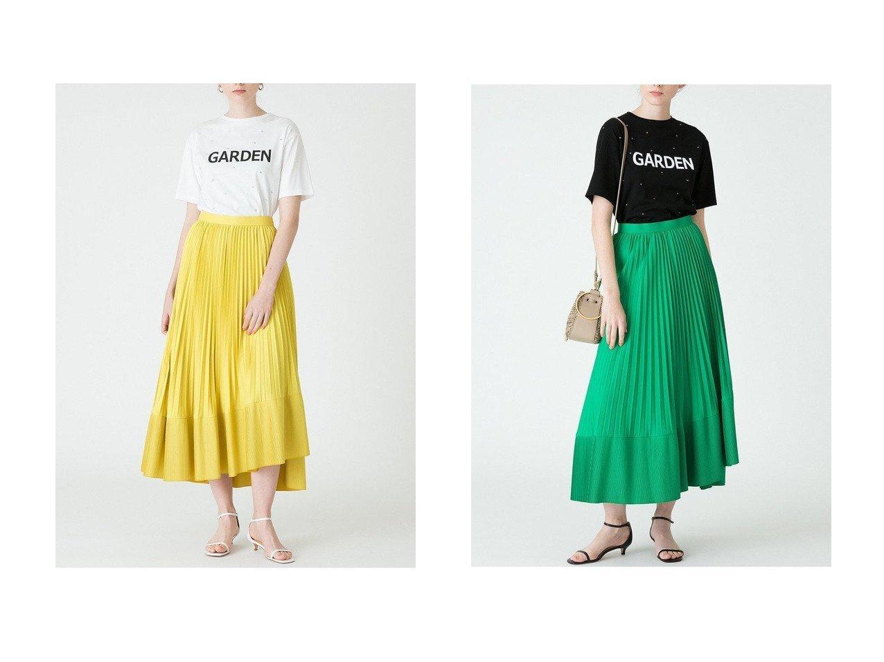 【allureville/アルアバイル】の【Loulou Willoughby】ティアードプリーツスカート allurevilleのおすすめ!人気、トレンド・レディースファッションの通販 おすすめで人気の流行・トレンド、ファッションの通販商品 メンズファッション・キッズファッション・インテリア・家具・レディースファッション・服の通販 founy(ファニー) https://founy.com/ ファッション Fashion レディースファッション WOMEN スカート Skirt プリーツスカート Pleated Skirts ロングスカート Long Skirt 2021年 2021 2021 春夏 S/S SS Spring/Summer 2021 S/S 春夏 SS Spring/Summer アシンメトリー ティアード プリーツ ロング 春 Spring |ID:crp329100000016948