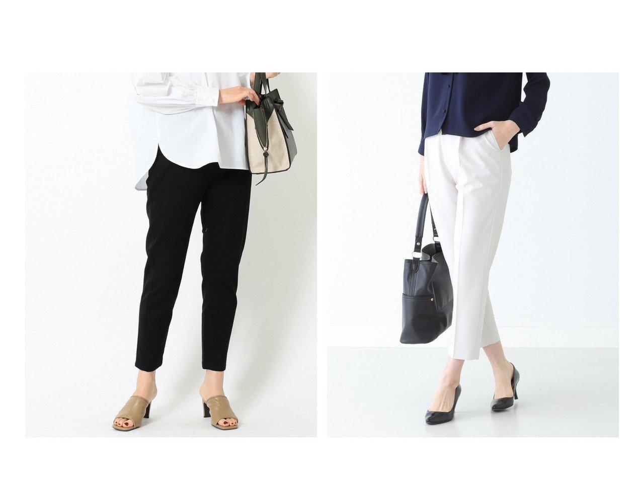 【B:MING by BEAMS/ビーミング by ビームス】のジョーゼット タックパンツ 21MO&ストレッチ テーパード パンツ 21SS BEAMSのおすすめ!人気、トレンド・レディースファッションの通販 おすすめで人気の流行・トレンド、ファッションの通販商品 メンズファッション・キッズファッション・インテリア・家具・レディースファッション・服の通販 founy(ファニー) https://founy.com/ ファッション Fashion レディースファッション WOMEN パンツ Pants 2021年 2021 2021 春夏 S/S SS Spring/Summer 2021 S/S 春夏 SS Spring/Summer ジーンズ ストレッチ テーパード ベーシック ヨーク 今季 コレクション ジョーゼット セットアップ センター 再入荷 Restock/Back in Stock/Re Arrival |ID:crp329100000017073