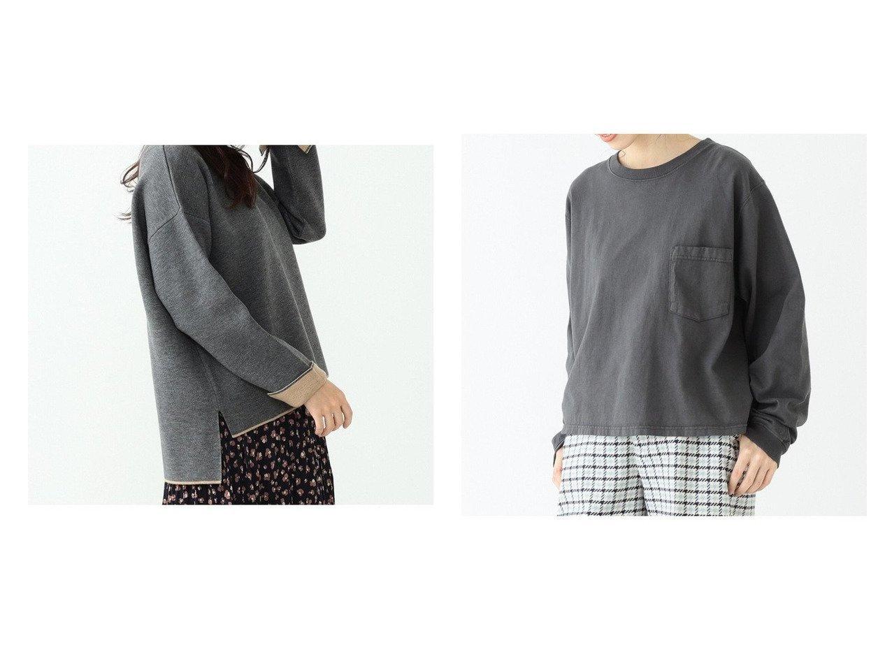 【BEAMS BOY/ビームス ボーイ】のカスタム ビッグ ロングスリーブ Tシャツ&【BEAMS HEART/ビームス ハート】の配色 リバーニット プルオーバー BEAMSのおすすめ!人気、トレンド・レディースファッションの通販 おすすめで人気の流行・トレンド、ファッションの通販商品 メンズファッション・キッズファッション・インテリア・家具・レディースファッション・服の通販 founy(ファニー) https://founy.com/ ファッション Fashion レディースファッション WOMEN トップス Tops Tshirt ニット Knit Tops プルオーバー Pullover シャツ/ブラウス Shirts Blouses ロング / Tシャツ T-Shirts カットソー Cut and Sewn ボックス 長袖 カットソー ショート スリーブ ビッグ ポケット リラックス ロング ワイド 定番 Standard |ID:crp329100000017077