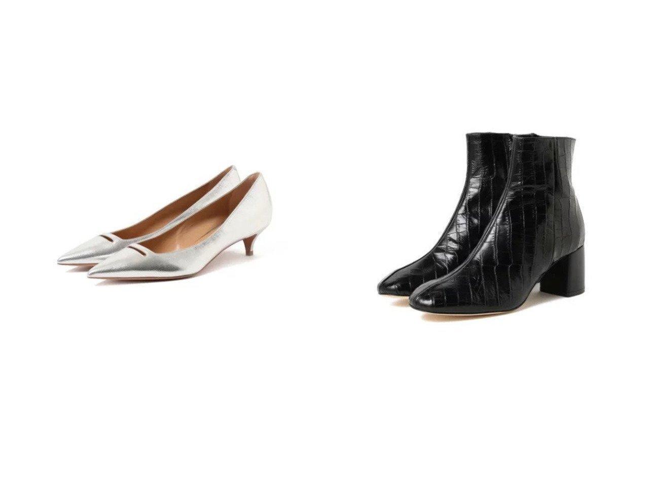 【Demi-Luxe BEAMS/デミルクス ビームス】のクロコ レザー ショートブーツ&ANELLI メタリック パンプス BEAMSのおすすめ!人気、トレンド・レディースファッションの通販 おすすめで人気の流行・トレンド、ファッションの通販商品 メンズファッション・キッズファッション・インテリア・家具・レディースファッション・服の通販 founy(ファニー) https://founy.com/ ファッション Fashion レディースファッション WOMEN イタリア エレガント クール コレクション シューズ シンプル スマート トレンド パーティ 人気 定番 Standard |ID:crp329100000017089