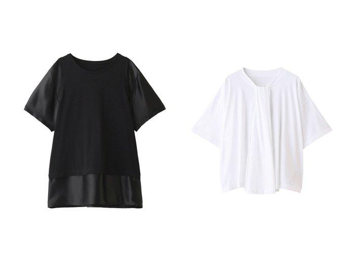 【MM6 Maison Martin Margiela/エムエム6 メゾン マルタン マルジェラ】のベーシックジャージーフロントデザイントップス&ベーシックジャージーTシャツ MM6のおすすめ!人気、トレンド・レディースファッションの通販  おすすめファッション通販アイテム レディースファッション・服の通販 founy(ファニー) ファッション Fashion レディースファッション WOMEN トップス Tops Tshirt シャツ/ブラウス Shirts Blouses ロング / Tシャツ T-Shirts カットソー Cut and Sewn 2021年 2021 2021 春夏 S/S SS Spring/Summer 2021 S/S 春夏 SS Spring/Summer ショート ジャージー スリーブ ベーシック ボトム 春 Spring |ID:crp329100000017184