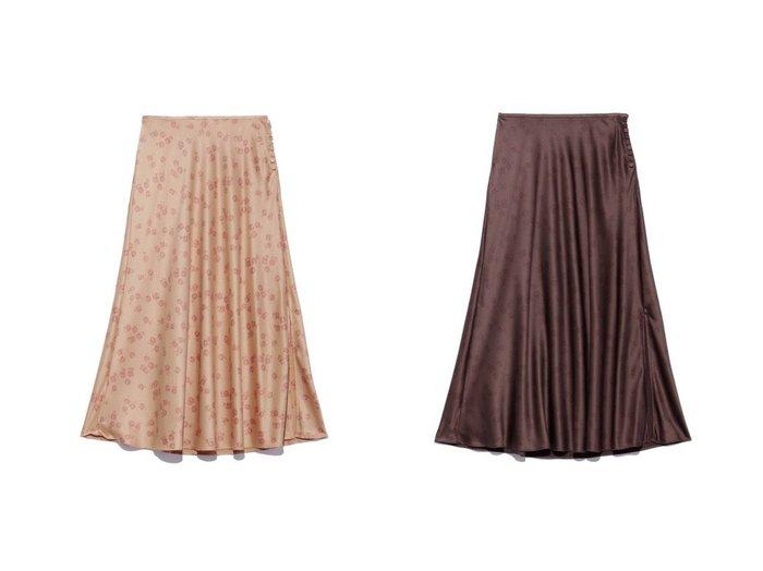 【SNIDEL/スナイデル】のパターンスカート SNIDELのおすすめ!人気、トレンド・レディースファッションの通販 おすすめファッション通販アイテム インテリア・キッズ・メンズ・レディースファッション・服の通販 founy(ファニー) https://founy.com/ ファッション Fashion レディースファッション WOMEN スカート Skirt 2021年 2021 2021 春夏 S/S SS Spring/Summer 2021 S/S 春夏 SS Spring/Summer クラシカル スリット パターン フラット プリント 春 Spring |ID:crp329100000017213