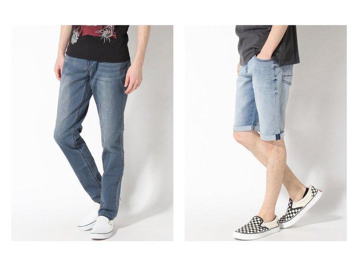 【GUESS / MEN/ゲス】のRELAXED TAPER DENIM PANT&LUSCHEK KNIT DENIM SHORTS 【MEN】GUESSのおすすめ!人気トレンド・男性、メンズファッションの通販 おすすめ人気トレンドファッション通販アイテム 人気、トレンドファッション・服の通販 founy(ファニー)  ファッション Fashion メンズファッション MEN ボトムス Bottoms Men デニムパンツ Denim Pants ハーフ / ショートパンツ Short Pants NEW・新作・新着・新入荷 New Arrivals シンプル ジーンズ デニム ロング ショート 春 Spring  ID:crp329100000017298