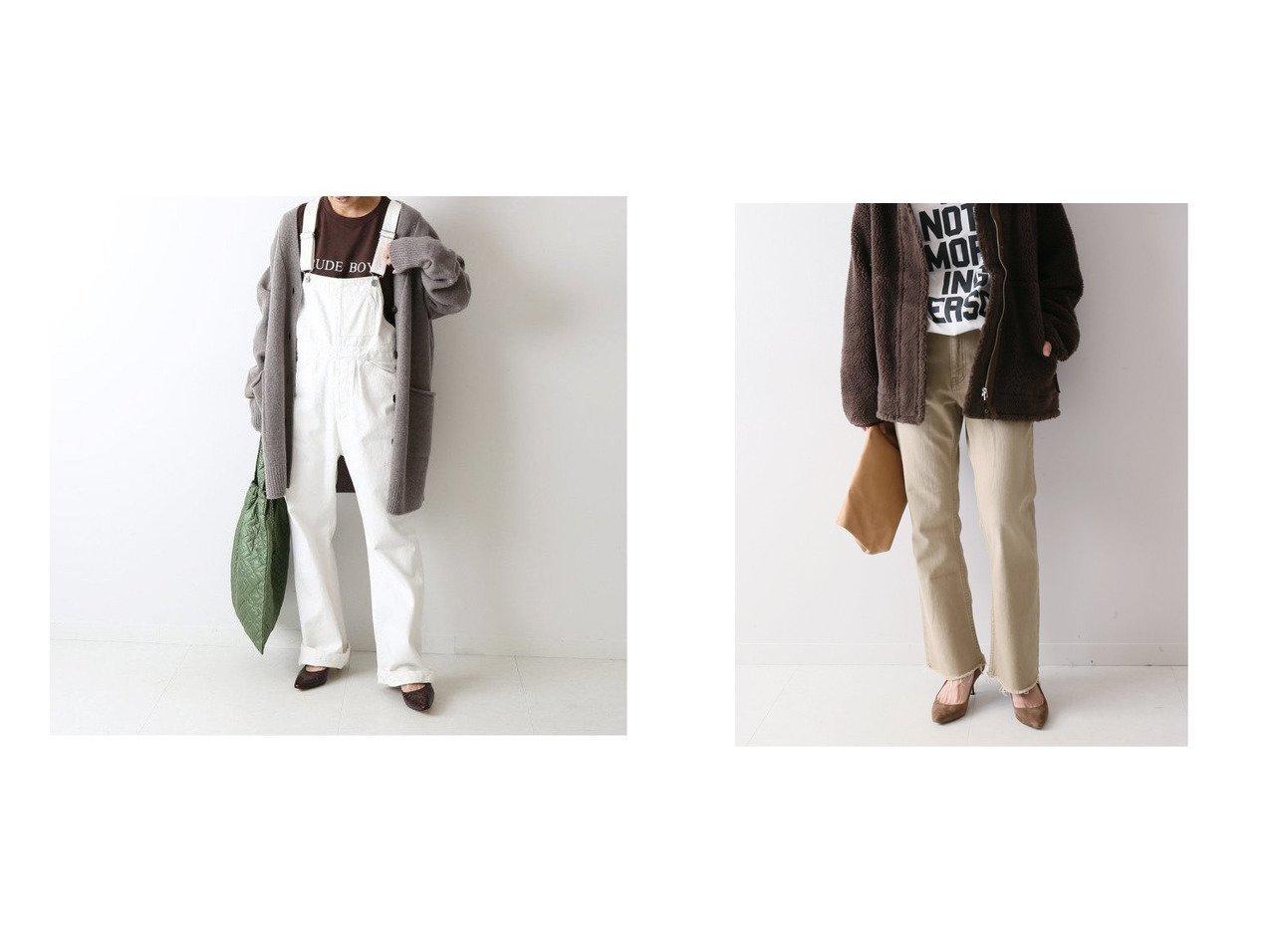 【FRAMeWORK/フレームワーク】のDENIM ストレートフレアパンツ2&デニムオーバーオール5 FRAMeWORKのおすすめ!人気、トレンド・レディースファッションの通販  おすすめで人気の流行・トレンド、ファッションの通販商品 メンズファッション・キッズファッション・インテリア・家具・レディースファッション・服の通販 founy(ファニー) https://founy.com/ ファッション Fashion レディースファッション WOMEN ワンピース Dress サロペット Salopette パンツ Pants デニムパンツ Denim Pants NEW・新作・新着・新入荷 New Arrivals 2020年 2020 2020-2021 秋冬 A/W AW Autumn/Winter / FW Fall-Winter 2020-2021 A/W 秋冬 AW Autumn/Winter / FW Fall-Winter インナー カットソー デニム ストレッチ ストレート フレア ヴィンテージ 人気 再入荷 Restock/Back in Stock/Re Arrival |ID:crp329100000017323