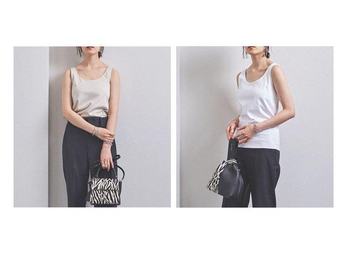 【UNITED ARROWS/ユナイテッドアローズ】のUBCB C DOUBLE タンクトップ 2 UNITED ARROWSのおすすめ!人気、トレンド・レディースファッションの通販  おすすめファッション通販アイテム レディースファッション・服の通販 founy(ファニー) ファッション Fashion レディースファッション WOMEN トップス Tops Tshirt シャツ/ブラウス Shirts Blouses ロング / Tシャツ T-Shirts カットソー Cut and Sewn インナー タンク |ID:crp329100000017344