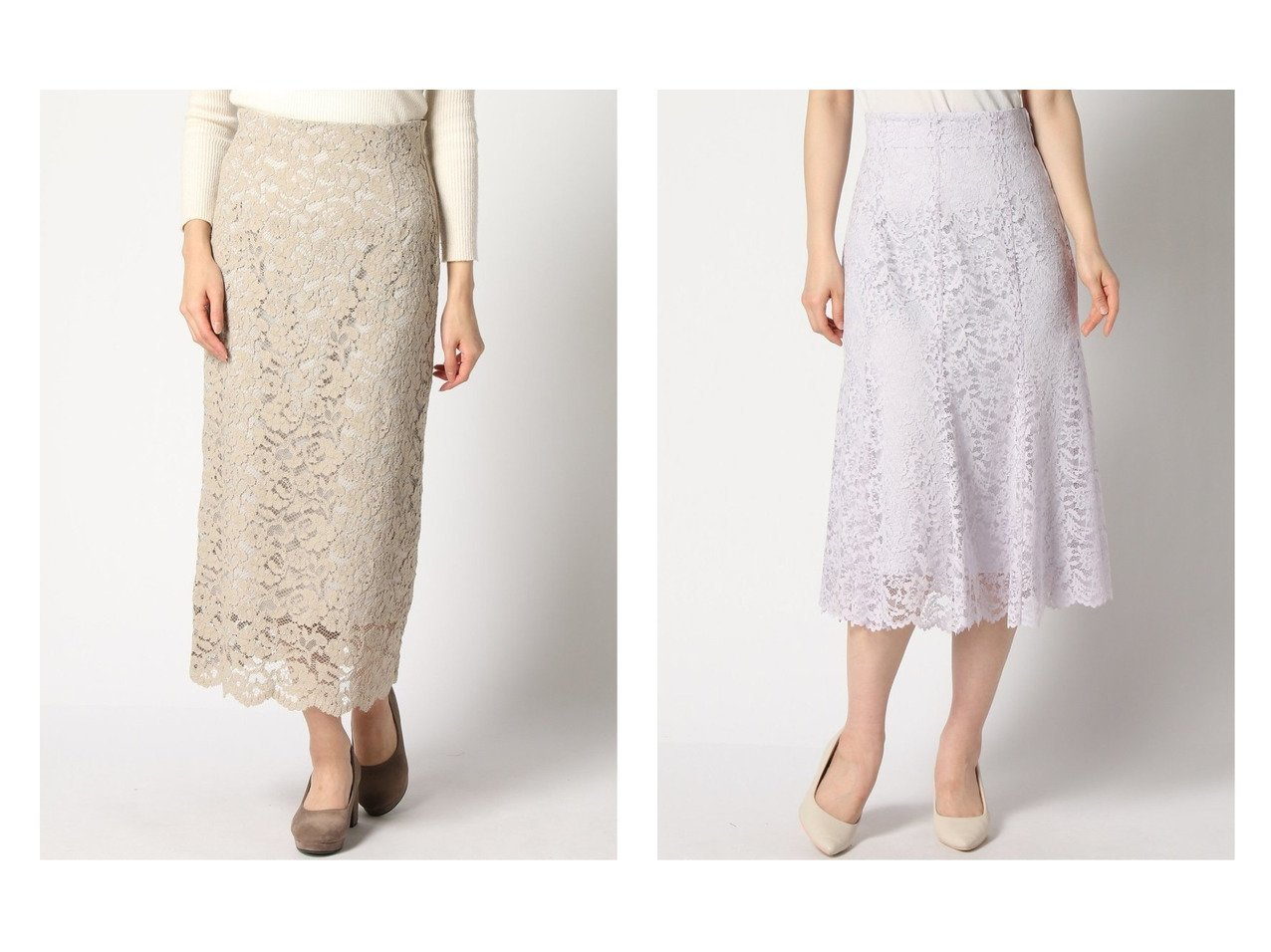 【La TOTALITE/ラ トータリテ】のレースフレアSK.Re 4&レースロング タイトSK La TOTALITEのおすすめ!人気、トレンド・レディースファッションの通販  おすすめで人気の流行・トレンド、ファッションの通販商品 メンズファッション・キッズファッション・インテリア・家具・レディースファッション・服の通販 founy(ファニー) https://founy.com/ ファッション Fashion レディースファッション WOMEN スカート Skirt Aライン/フレアスカート Flared A-Line Skirts NEW・新作・新着・新入荷 New Arrivals 2021年 2021 2021 春夏 S/S SS Spring/Summer 2021 S/S 春夏 SS Spring/Summer アンサンブル ジャケット タイトスカート トレンド ビッグ レース ロング 定番 Standard ショート シンプル バランス パープル フレア ブルゾン リラックス |ID:crp329100000017362