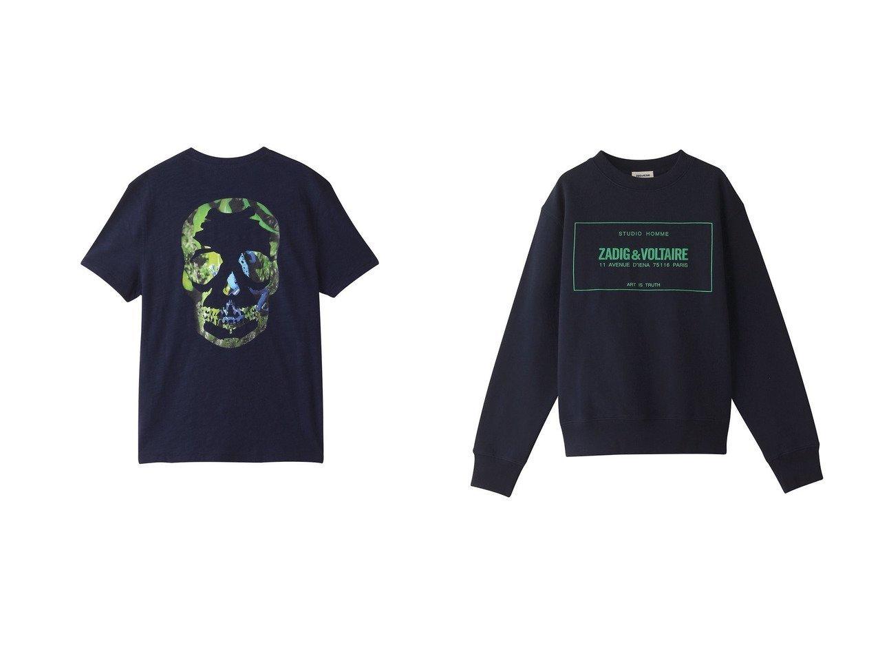 【ZADIG & VOLTAIRE / MEN/ザディグ エ ヴォルテール】の【MEN】SIMBA MO NEW BLASON SWEATSHIRT PRINT DEVANT ニット&【MEN】STOCKHOLM FLAMME TDM PHOTOPRINT T-SHIRT POCHE POIT Tシャツ 【MEN】ZADIG & VOLTAIREのおすすめ!人気トレンド・男性、メンズファッションの通販 おすすめで人気の流行・トレンド、ファッションの通販商品 メンズファッション・キッズファッション・インテリア・家具・レディースファッション・服の通販 founy(ファニー) https://founy.com/ ファッション Fashion メンズファッション MEN トップス Tops Tshirt Men シャツ Shirts ニット Knit Tops パーカ Sweats 2021年 2021 2021 春夏 S/S SS Spring/Summer 2021 S/S 春夏 SS Spring/Summer ショート スリーブ プリント モチーフ 半袖 春 Spring |ID:crp329100000017446