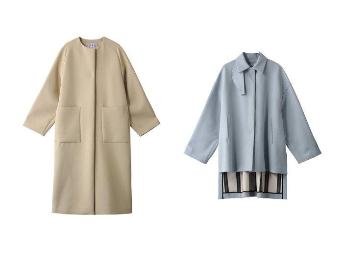 【ADORE/アドーア】のトリプルクロスコート&ドライクロスコート ADOREのおすすめ!人気、トレンド・レディースファッションの通販  おすすめファッション通販アイテム レディースファッション・服の通販 founy(ファニー) ファッション Fashion レディースファッション WOMEN アウター Coat Outerwear コート Coats 2021年 2021 2021 春夏 S/S SS Spring/Summer 2021 S/S 春夏 SS Spring/Summer フェミニン フロント リラックス ロング 春 Spring |ID:crp329100000017456