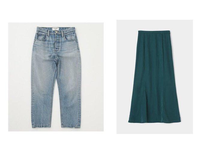 【moussy/マウジー】のSUPPLE LONG スカート&【BLACK by moussy/ブラック バイ マウジー】のHUILA blue denim MOUSSYのおすすめ!人気、トレンド・レディースファッションの通販  おすすめファッション通販アイテム レディースファッション・服の通販 founy(ファニー) ファッション Fashion レディースファッション WOMEN パンツ Pants デニムパンツ Denim Pants スカート Skirt ストレート スリム デニム メンズ 再入荷 Restock/Back in Stock/Re Arrival |ID:crp329100000017471