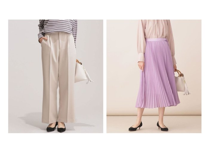 【nano universe/ナノ ユニバース】のカセット6ファンクション パンツ (セットアップ可)&パーツ付きシアープリーツスカート nano universeのおすすめ!人気、トレンド・レディースファッションの通販  おすすめファッション通販アイテム レディースファッション・服の通販 founy(ファニー) ファッション Fashion レディースファッション WOMEN セットアップ Setup パンツ Pants スーツ Suits スーツパンツ Pantsuit スーツセット Suit Sets スカート Skirt Aライン/フレアスカート Flared A-Line Skirts プリーツスカート Pleated Skirts オケージョン シンプル ジャケット ストレッチ スーツ セットアップ センター フォーマル シアー トレンド プリーツ ミモレ メタル |ID:crp329100000017487